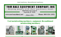 Tom Hale Used Equipment Company