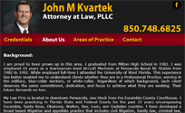 John M Kvartek Attorney at Law