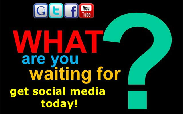 Get social media on your website today!